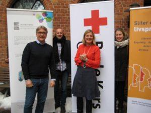 Historisk samarbeidsavtale mellom Oslo Røde Kors og LINK Oslo, senter for selvhjelp og mestring